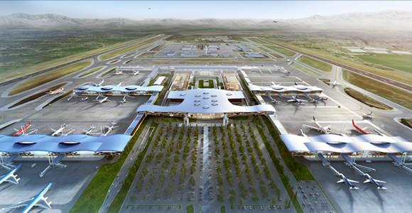 Aeropuerto Nuevo Pudahuel: reduciremos su huella de carbono